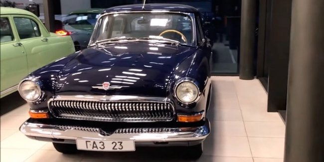 """The Internet has showed the most expensive GAZ-23 """"Volga"""""""