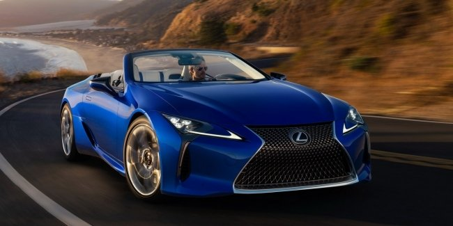 The auction will sell an exclusive version of the Lexus LC500