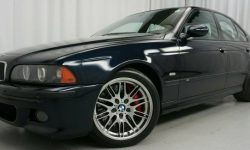 """Charged"" BMW M5 2001 release with minimal mileage put on sale"