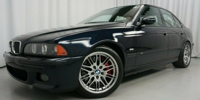 """""""Charged"""" BMW M5 2001 release with minimal mileage put on sale"""