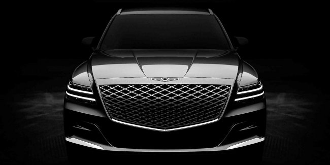 Design Genesis GV80 2020 revealed before the official premiere