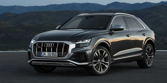Crossover Audi SQ7 and SQ8 have got high-performance modifications