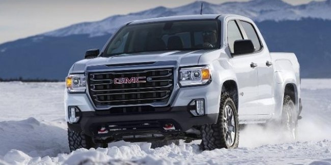 Pickup truck GMC Canyon received off-road version for camping