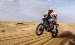 On the Dakar rally-2020 killed rider Paulo gonçalves