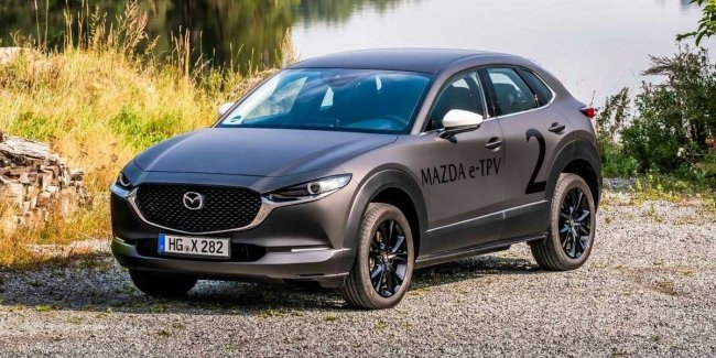 Mazda limited the power of its first electric car