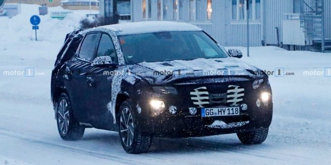 New Hyundai Tucson has been spotted on tests