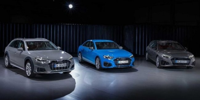 Audi has published the prices of the A4 and S4 2020 model year