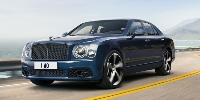 Bentley announced the termination of production of the sedan Mulsanne