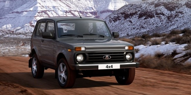 AvtoVAZ announced prices for the updated Lada 4×4