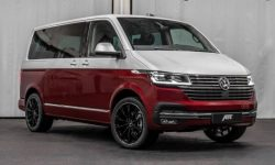 "Tuners from ABT have demonstrated the ""charged"" version of the Volkswagen T6"