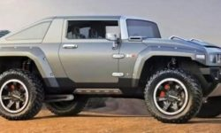 The network got the image of the first electric Hummer HX