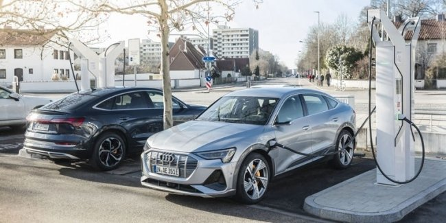 Audi is investing around 100 million euros in a private charging station