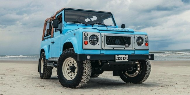 Tuners made buggy from serial Land Rover Defender