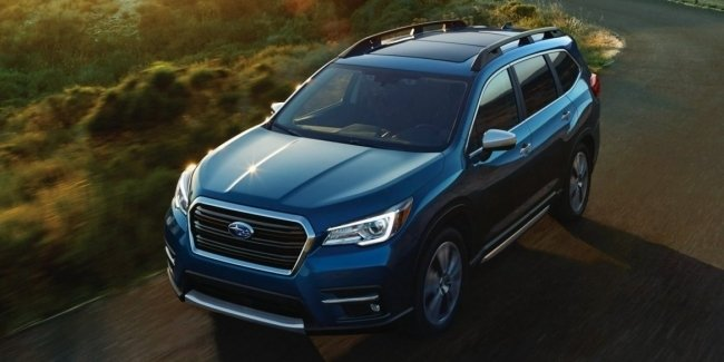 SUV Subaru Ascent onto the world market