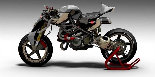 Concept Ducati scares children and adults