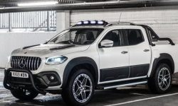 View the Mercedes-Benz X-class with tuning in the style of AMG