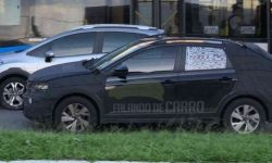 Fresh pictures kupeobrazny SUV on the basis of the VW Polo