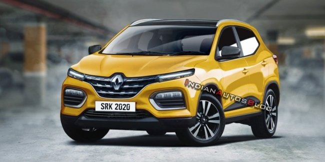 In the Network appeared render a new low-cost crossover Renault