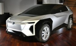 Subaru has revealed the design of a joint with Toyota's electric crossover