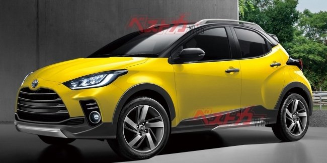 Became known date of the debut of the compact crossover Toyota