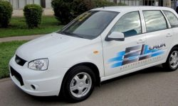 The first production electric car EI LADA for sale for $14 500