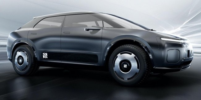 "Electric crossover Neuron VEGA has combined comfort ""cars"" with the strength of a pickup truck"