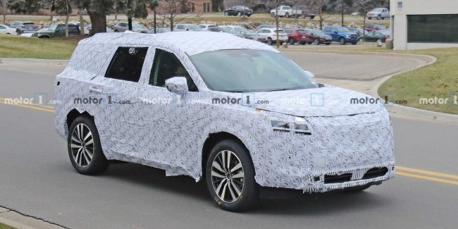 Nissan Pathfinder 2021 first revealed in spy photos