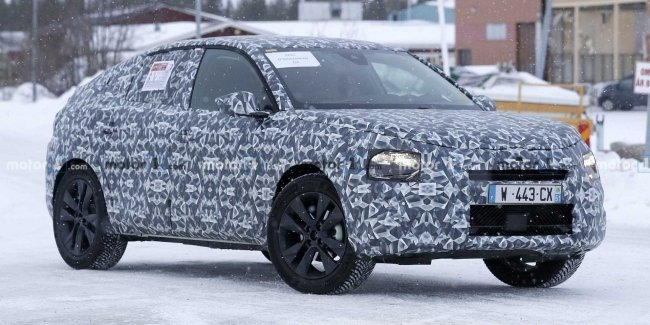 New Citroen C4 Cactus first noticed on tests