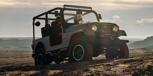 Was a Jeep, was Toyota the Rover Mahindra Roxor changed the design