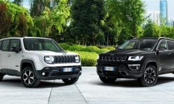 Jeep Renegade and Compass 4xe 4xe electrified for Europe