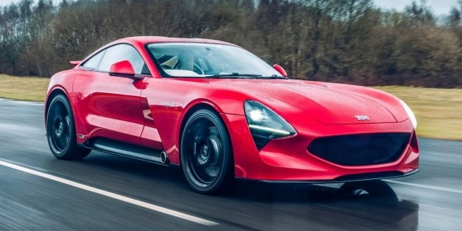 The only existing TVR Griffith will soon go on the road