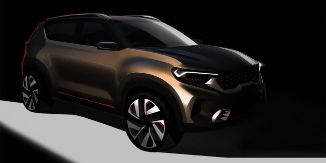 KIA has published the first images of the new crossover