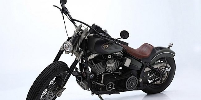 The motorcycle of the deceased actor sold under the hammer