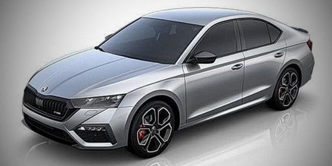 Appearance Skoda Octavia RS and Octavia Scout revealed before the premiere