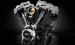 Harley-Davidson introduced the engine is a monster