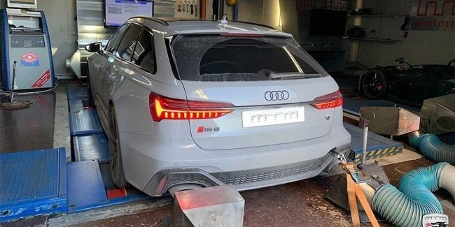 Atelier MTM introduced the 787-strong version of the station wagon Audi RS6 Avant