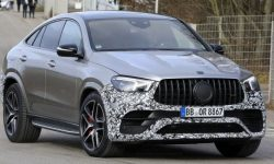 Photos of the updated crossover Mercedes-AMG GLE 63 leaking