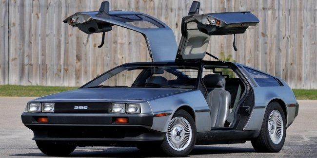 Back to the future: DeLorean DMC-12 back to the conveyor