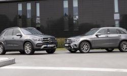 Mercedes announced the price for the hybrid versions of SUVs GLE and GLC