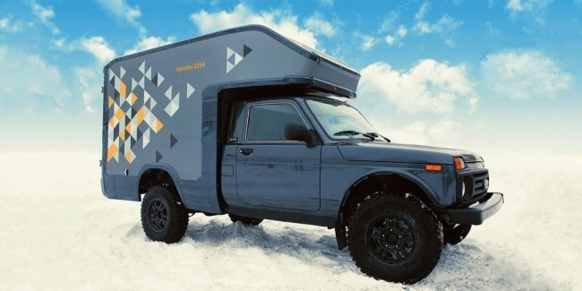 Lada Granta Niva received an unusual expensive modifications