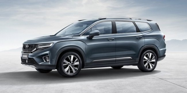 New crossover Geely with a strange name