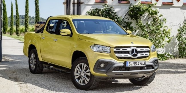 In may, Mercedes-Benz will stop making pickup X-Class