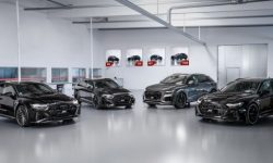 "Four RS models Audi is ""pumped"" up to 700 forces"
