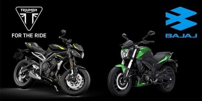 Triumph and Bajaj has announced a budget news