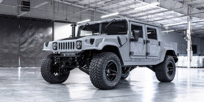GMC revealed all-electric SUV Hummer