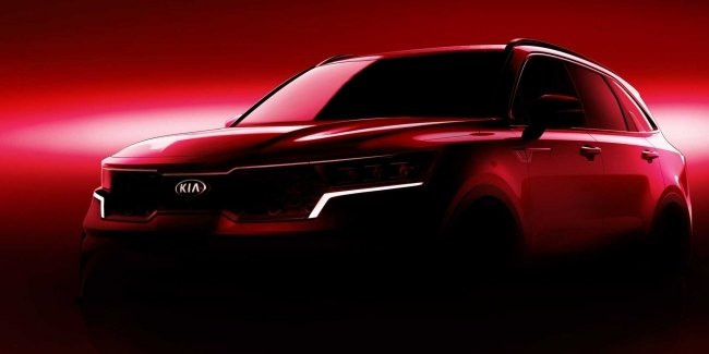 New KIA Sorento: first official photos