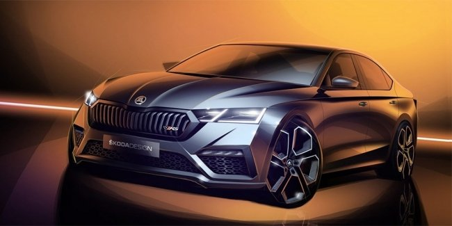 "Skoda has revealed the design of the ""charged"" Octavia of new generation"