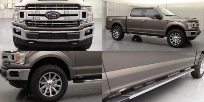 Pickup Ford F-150 has received off-road version