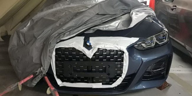 The Network showed pictures of unusual grille of the new BMW 4-Series