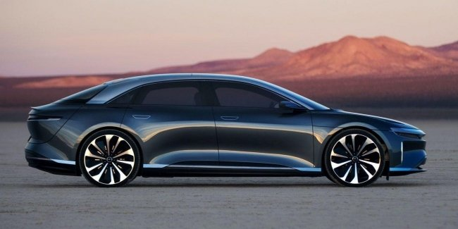 Sedan Lucid Air will be the first 900-volt electric car